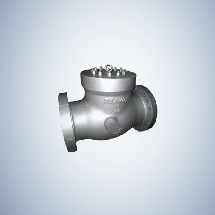Catalogue Cast Steel Pressure Seal Swing Check Valve