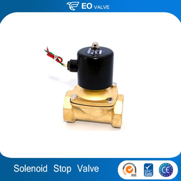 2 Inch Water Normally Closed Engine Stop Solenoid Valve