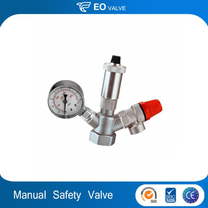 Bronze Safety Relief Valve Manual