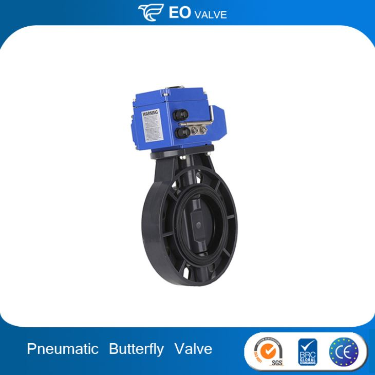 High Quality Motorised Butterfly Valve Pneumatic Valve