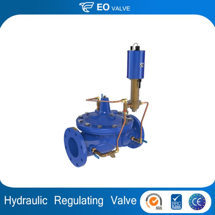 Hydraulic Pressure Release Valve With Voltage Regulation