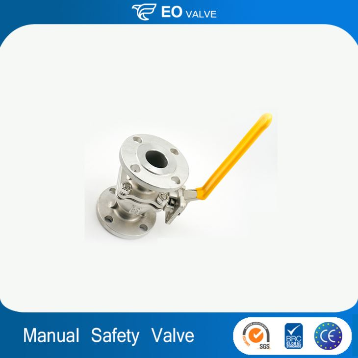 Low Price Manual Stainless Steel Safety Valve