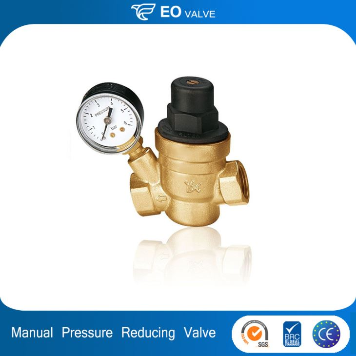 Manual Brass Pressure Reducing Valve