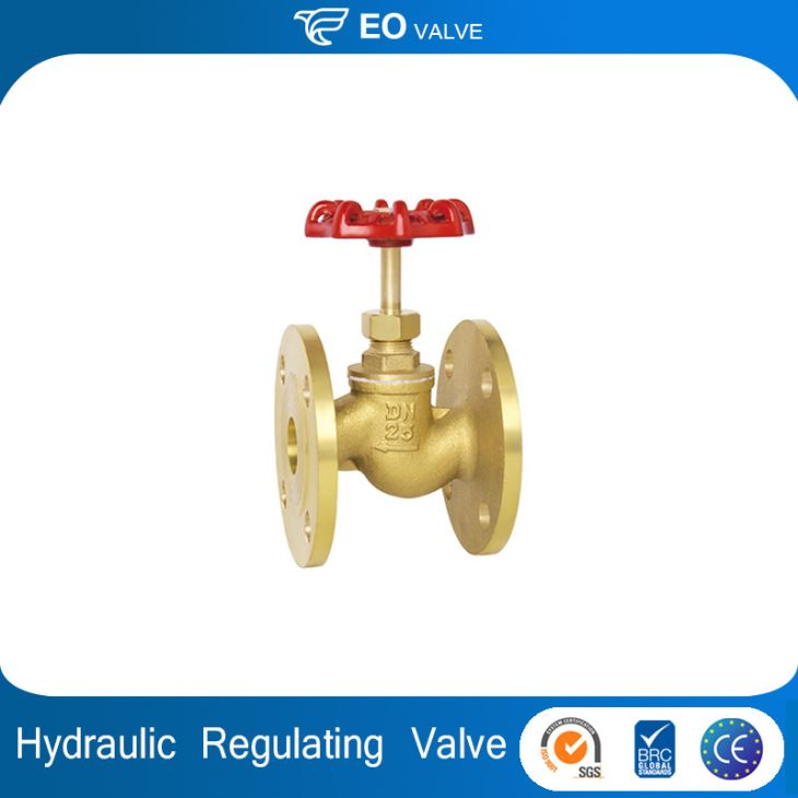 Manual Regulating Hydraulic Flanged Brass Ball Valve