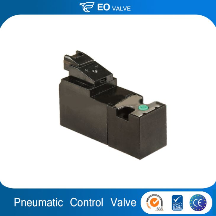 Pneumatic Button-type Manual Switch Electric Control Miniature Solenoid Valve