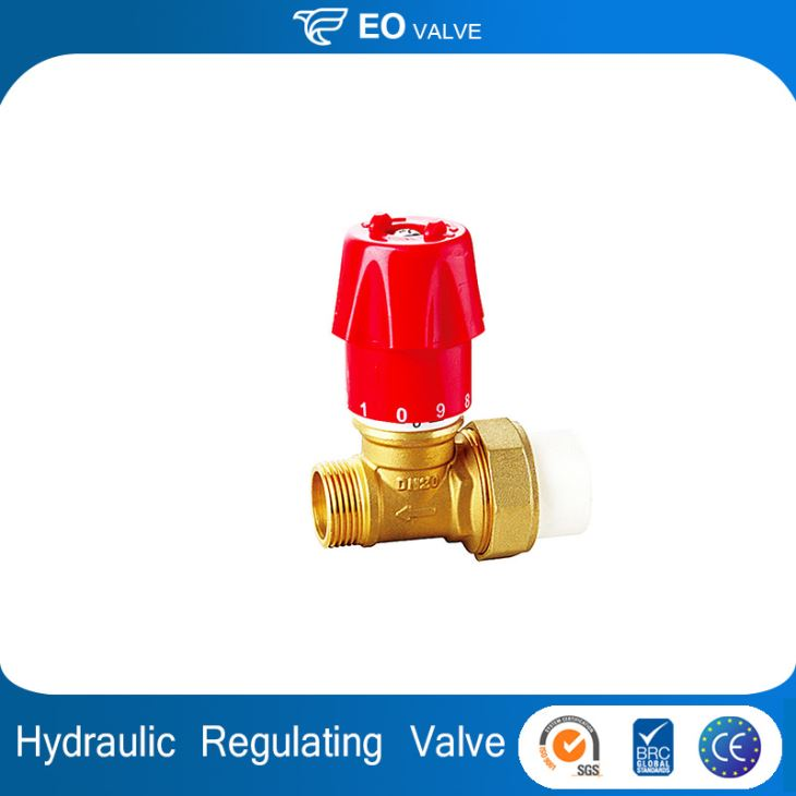 PPR Internal And External Thread Copper Regulating Hydraulic Check Valve