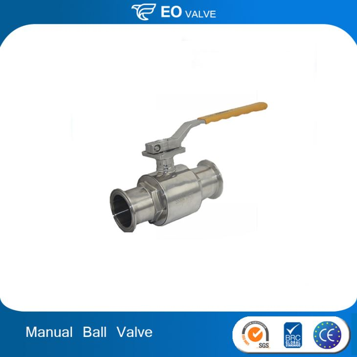 Small Mini Stainless Steel 3 Piece Welded Ball Valve