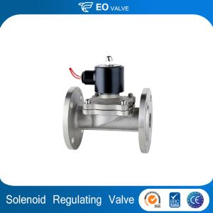 12v 24v Dc Ac 100mm Water Flange Air Gas Regulator Solenoid Valve