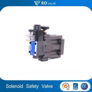 Adjustable Mechanical Solenoid Pressure Control Safety Relief Valve