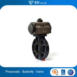 Best Selling Pneumatic Actuator Butterfly Valve