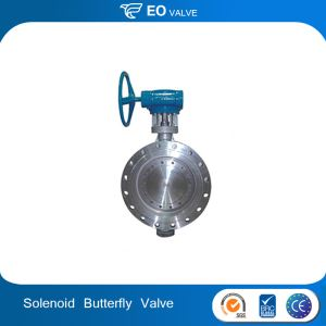 Double Offset Price Flange Solenoid Butterfly Valve Seat