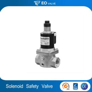High Pressure Solenoid Valve Slow Opening Gas Safety Valve