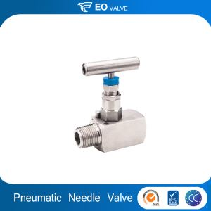 Pneumatic CO2 Forged Stainless Steel 1/2 Instrument Needle Valve