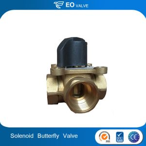 Quality Butterfly 1 Inch Water Solenoid Valve 12v