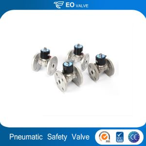 Solenoid Liner Safety Floating Relief Pneumatic Stainless Steel Valve