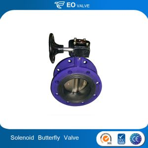 Solenoid Actuated German Types Of Butterfly Valve