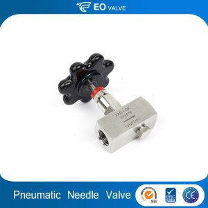 Stainless Steel Oil And Gas Stock Pneumatic Needle Valve